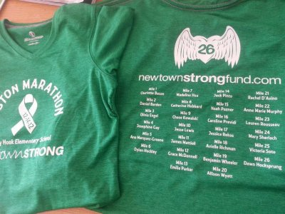 Newtown families safe after Boston Marathon blast