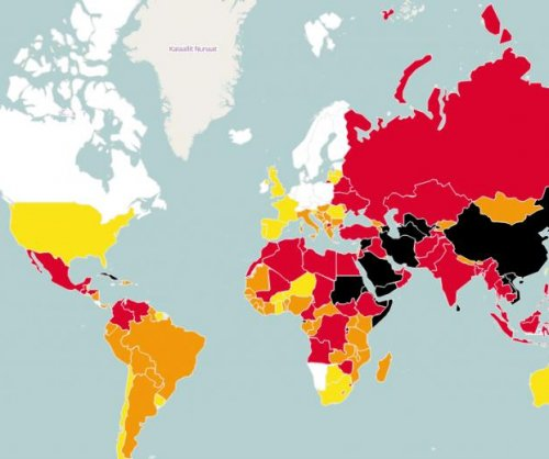 Report: Press freedom around world deteriorating - even in U.S.