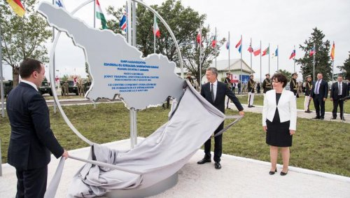 Georgia, eager to join NATO, opens training center