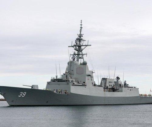 Royal Australian Navy receives first Hobart-class destroyer