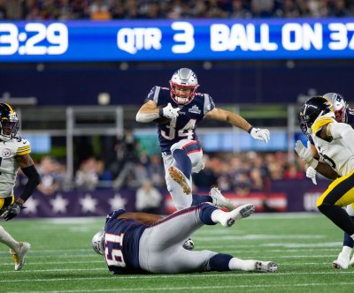 New England Patriots' Rex Burkhead, Phillip Dorsett ruled out for TNF