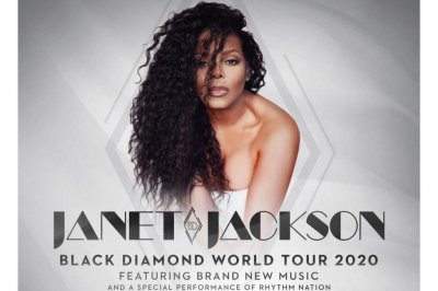 Janet Jackson to kick off 'Black Diamond' tour in June