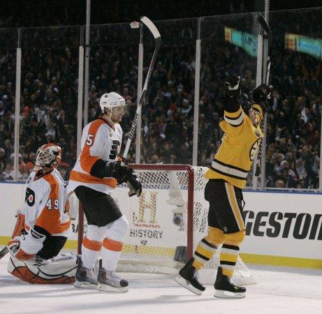 NHL: Boston 2, Philadelphia 1 (OT)