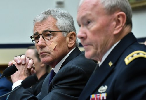 Hagel, Dempsey testify before House committee on IS strategy