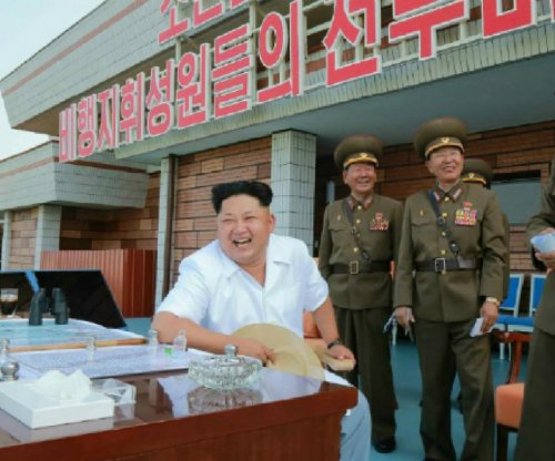 Kim Jong Un tells North Korea pilots to 'improve' their skills