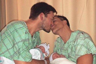 Fredrik Eklund of 'Million Dollar Listing' welcomes twins