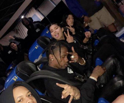 Kylie Jenner celebrates Travis Scott's birthday at Six Flags