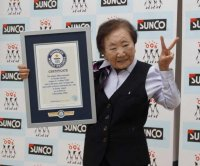 Japanese woman, 90, named world's oldest office manager