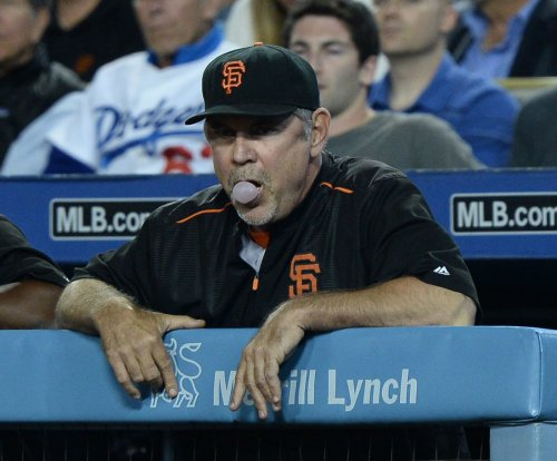 San Francisco Giants manager Bruce Bochy hospitalized in Miami