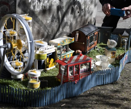 'AnonyMouse' artists build tiny 'amousement' park in Sweden