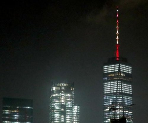 World Trade Center salutes Spain with red, yellow after Barcelona attack