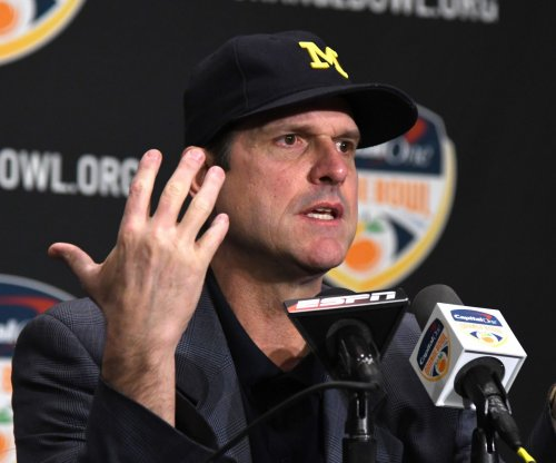 Michigan Wolverines head coach Jim Harbaugh: Hit on QB Wilton Speight was 'egregious'