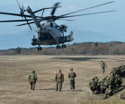 For second time, part of U.S. military chopper falls to Japan school