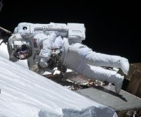 NASA, Japanese astronauts plan spacewalk Friday