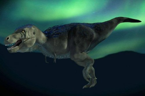 Scientists unearth pygmy T. rex dinosaur in Alaska