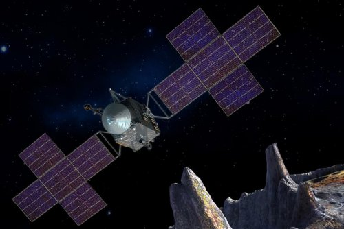 NASA moves up trip to metal asteroid