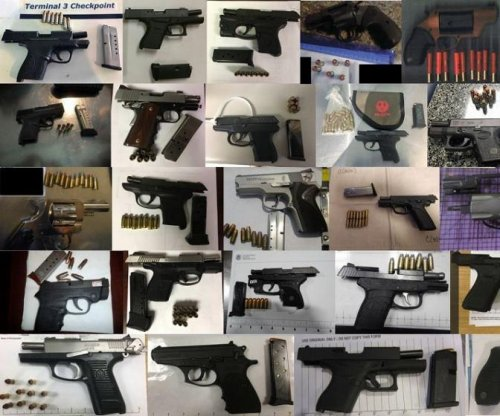 TSA finds record 104 firearms in one week