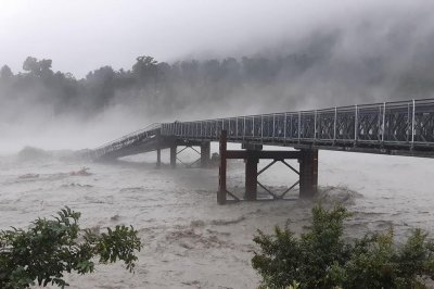 New Zealand district under state of emergency after storm downs bridge