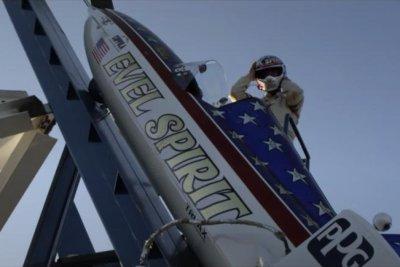 'Stuntman' trailer: Eddie Braun prepares to attempt Evel Knievel's canyon jump