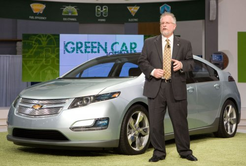 Volt electric car may earn 230 mpg rating