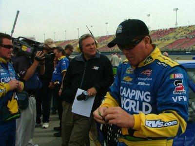 NASCAR announcer Steve Byrnes' cancer returns