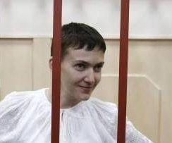 Ukrainian pilot jailed in Russia ends dry hunger strike