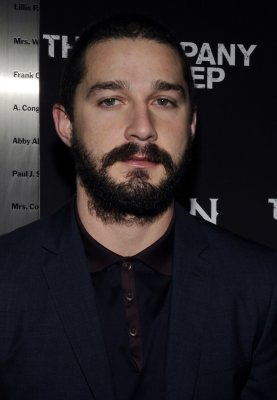 Actor LaBeouf storms out of news conference after one question