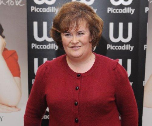 Songbird Susan Boyle has first beau at 53