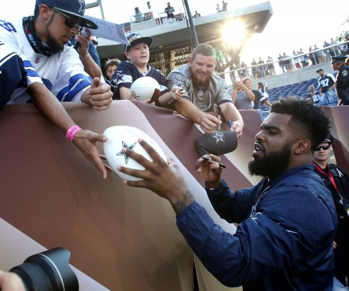 Dallas Cowboys RB Ezekiel Elliott may play versus Oakland Raiders on Saturday