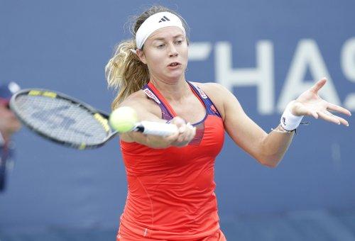 Voegele opens Ladies Linz tournament with three-set win