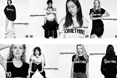 Alexander Wang enlists Kanye West, Kim K, Rod Stewart for 'Do Something' campaign