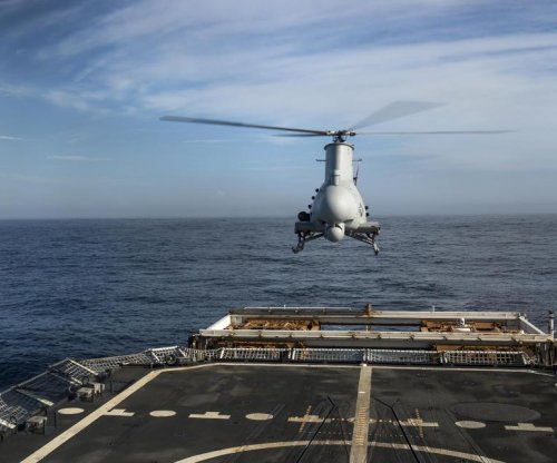 Navy deploys Fire Scout drone with new radar