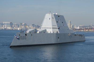 Raytheon receives contract for Zumwalt radars