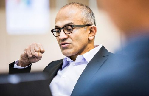 Microsoft names Satya Nadella as new chief executive