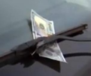 Official: Don't get out of your car for $100 bill