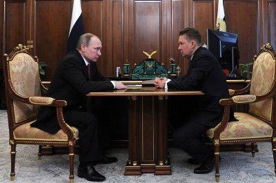 Gazprom production falters