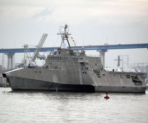 Keel authenticated for LCS Charleston