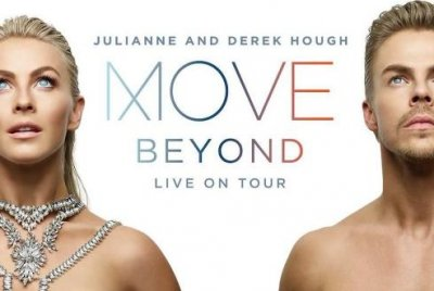 Derek and Julianne Hough to embark on new Move - Beyond tour in 2017