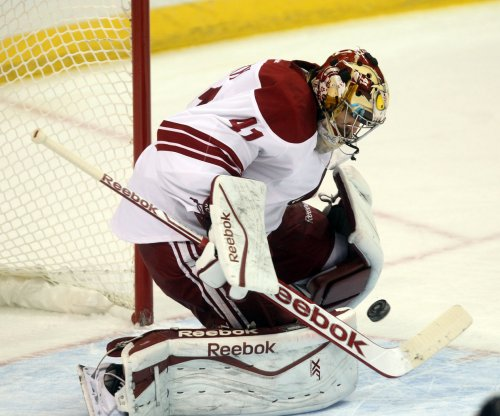 Phoenix Coyotes halt Washington Capitals' six-game win streak