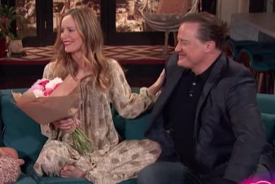 'George of the Jungle': Brendan Fraser, Leslie Mann reunite