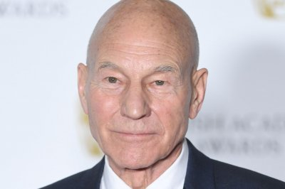 Patrick Stewart, dog look out over vineyard in 'Star Trek: Picard' poster