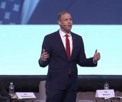NASA's Bridenstine boosts international pitch for moon, Mars missions