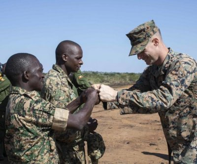 U.S., Ugandan military leaders mark end of peacekeeping partnership