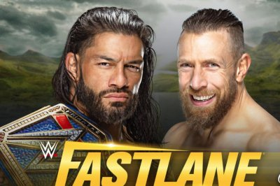 WWE Fastlane: Roman Reigns defends against Daniel Bryan
