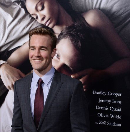 James Van Der Beek reveals third daughter's name