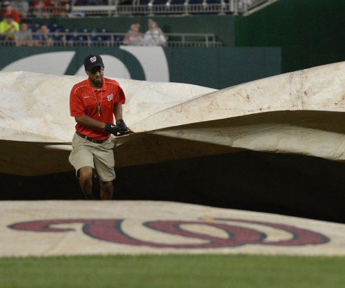 Baltimore Orioles-Washington Nationals game rained out