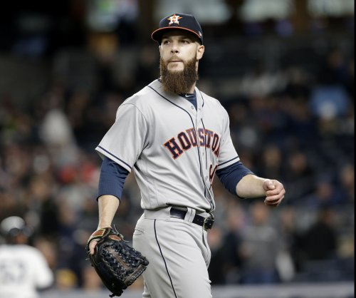 Houston Astros' Dallas Keuchel just fine with attempting to deliver in Game 2 vs. Boston Red Sox
