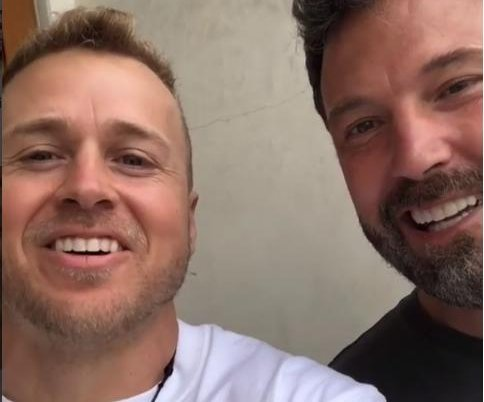 Spencer Pratt meets Ben Affleck: 'I actually have chills'