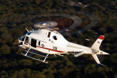 U.S. Navy receives first TH-73A training helicopter