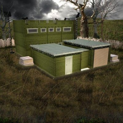 'Zombie-proof' cabin being sold online